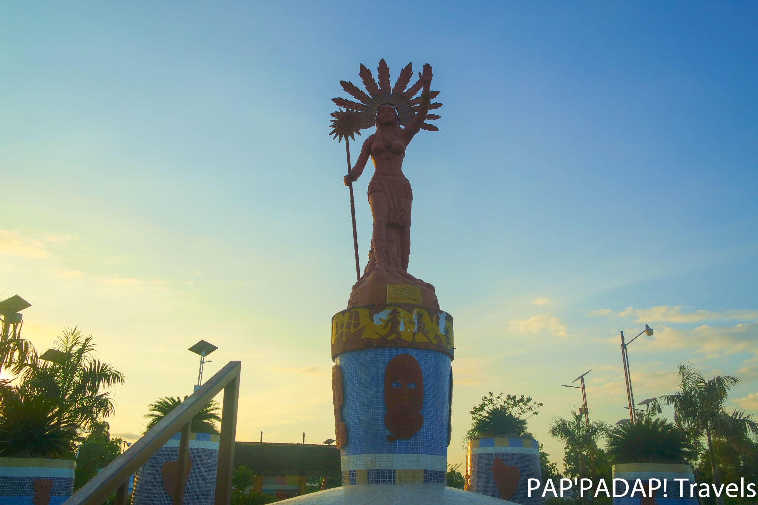 Anacoana statue, Léogane - Ouest Haïti