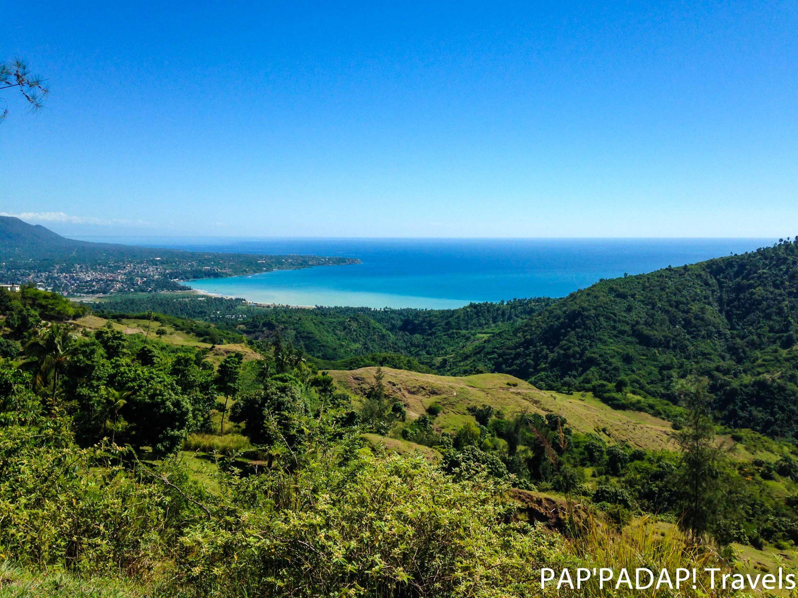 Baie de Jacmel - Vue de Haut - Sud Est Haiti - PAP_PADAP! Travels