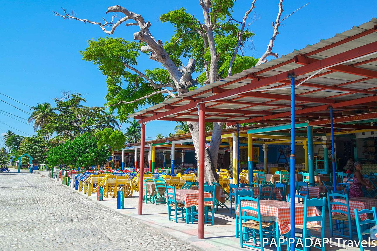 Gelée, Beach restaurants - Sud Haïti