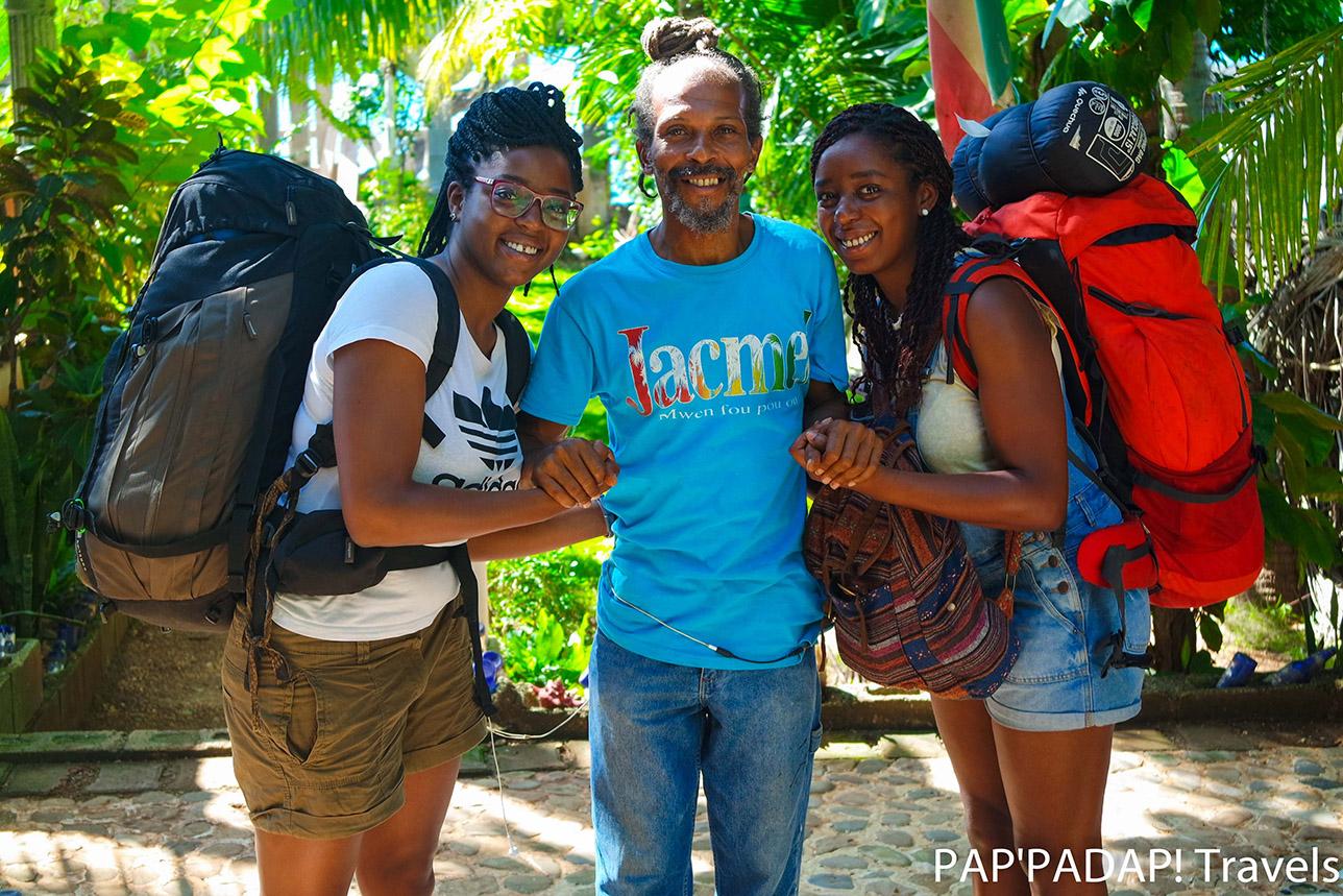 Community work - local people - Petit Boucan - Ouest -
