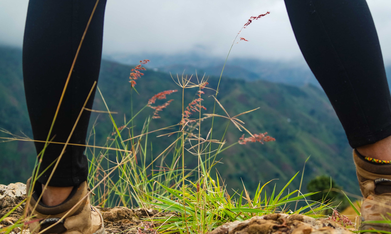 Hiking shoes - Nature - Furcy - Ouest - Haiti 3