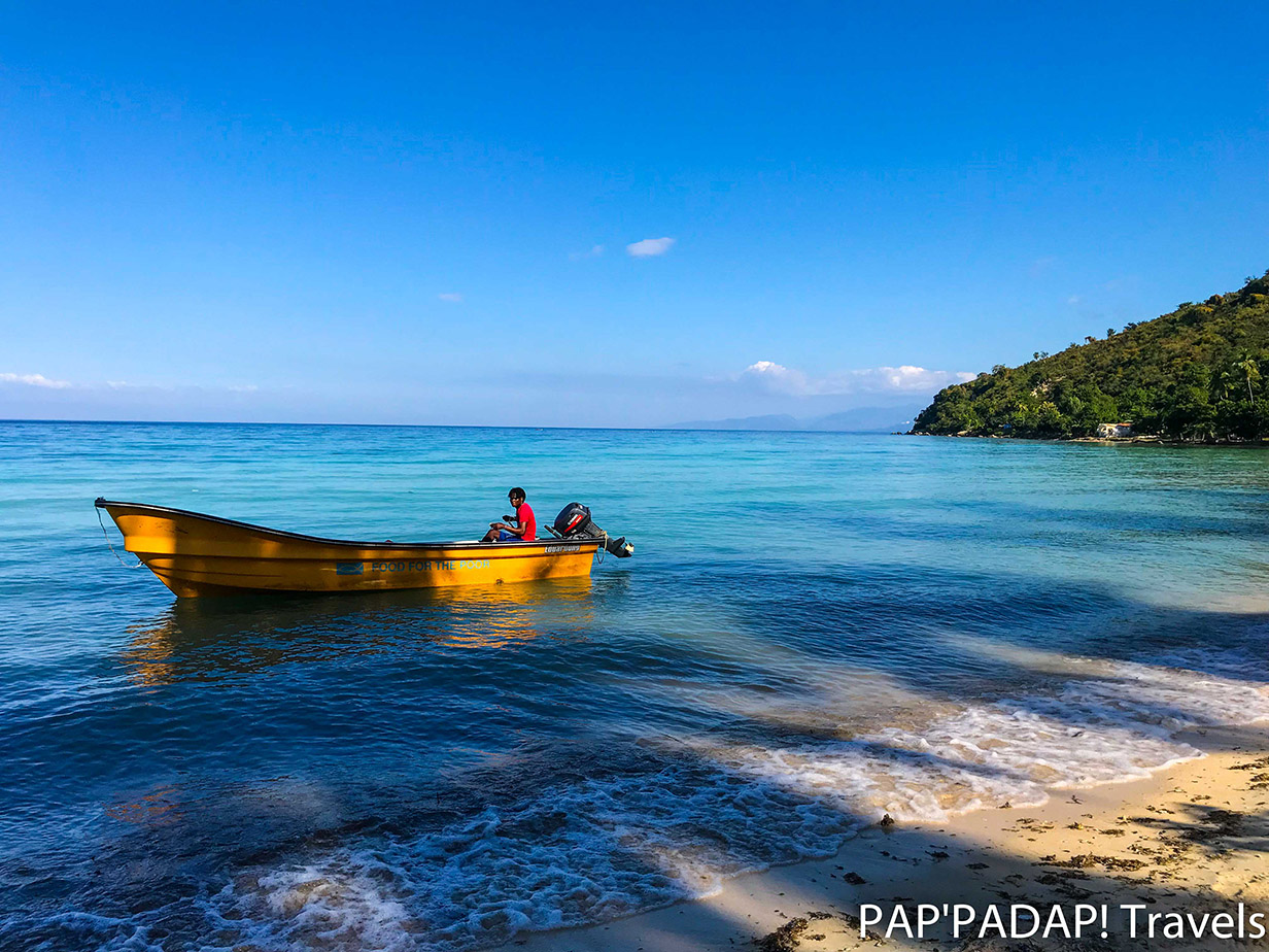 Bateau plage - Ti Goave - Sud Haïti - PAP_PADAP! Travels