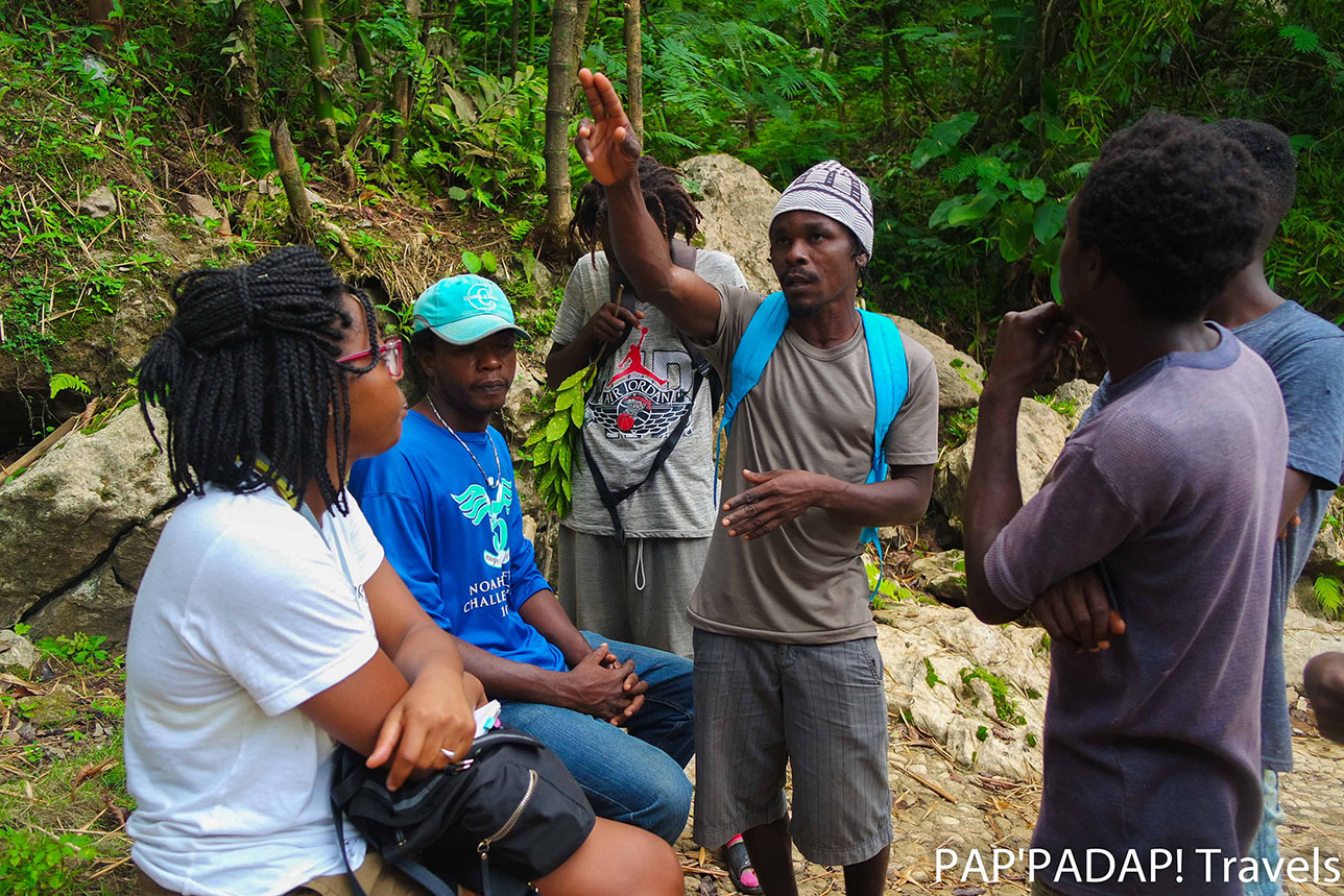 Discussion association locale Haïti