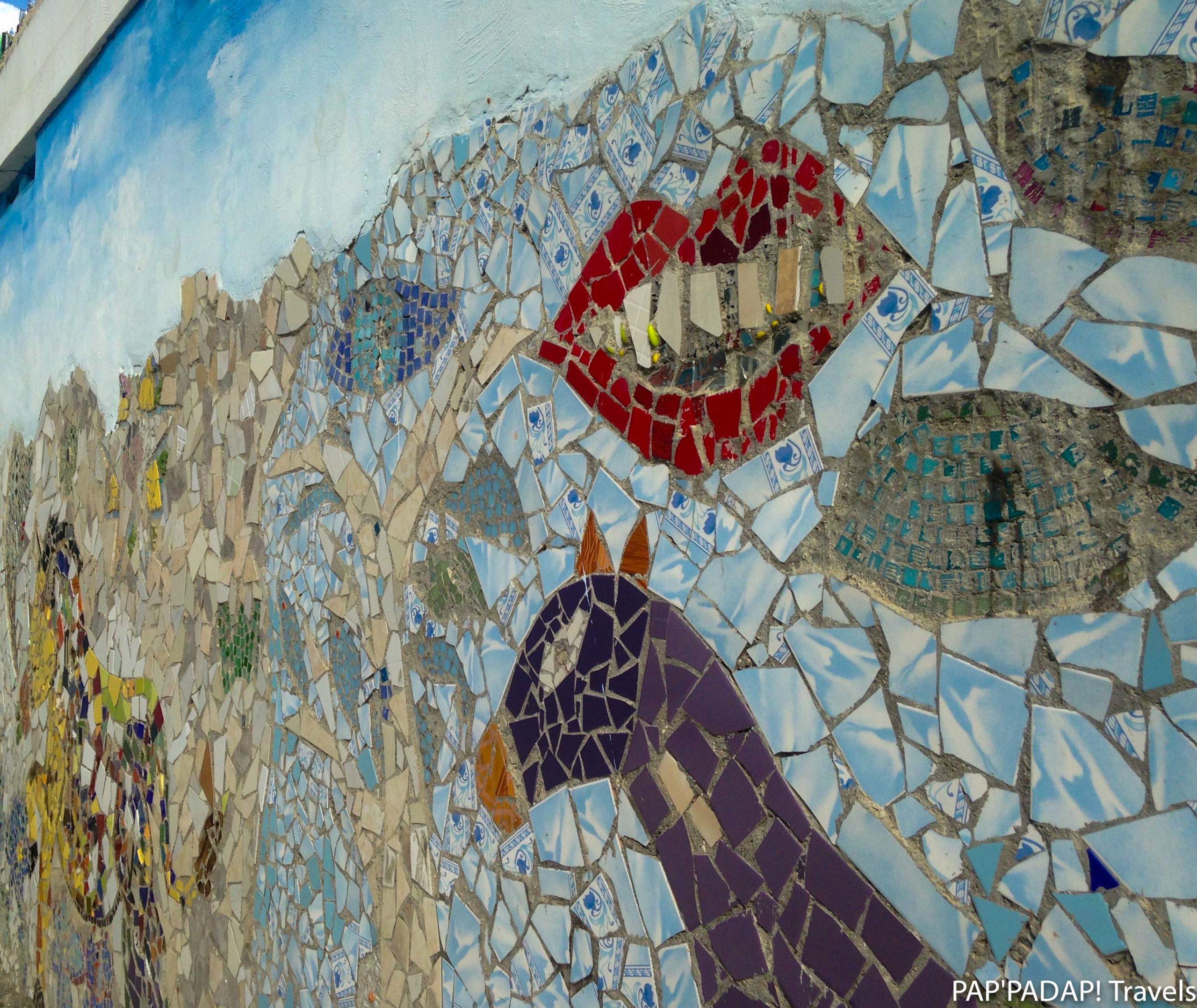 Mosaique rues Jacmel - Sud est Haïti - PAP_PADAP! Travels