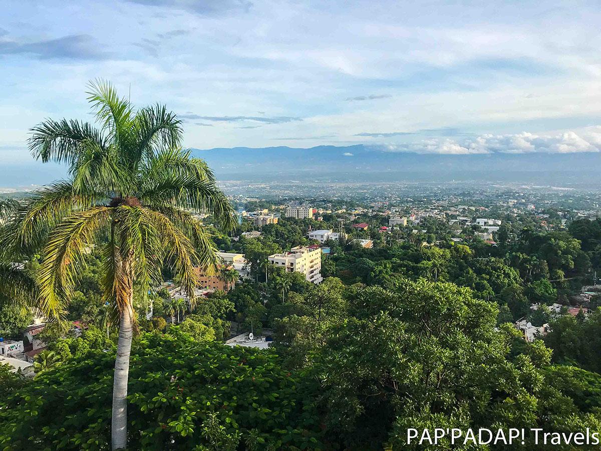 Port au Prince vue de haut 2 - Ibolele hotel - Ouest - Haiti_