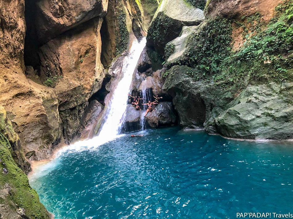 Voyageurs - Bassin bleu - Jacmel - Haïti