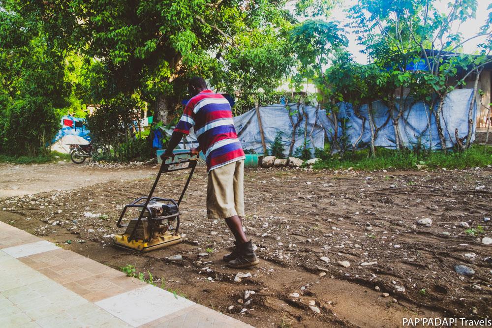 Community work - local solo - Petit Boucan - Ouest - Haiti