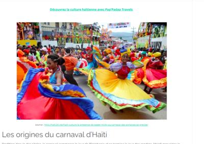 Article carnaval - PPDTravels - JCCH