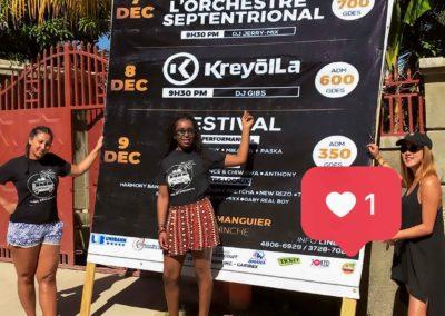PPDTravels Visib - Yellow Fest add - Hinche - Centre - Haiti