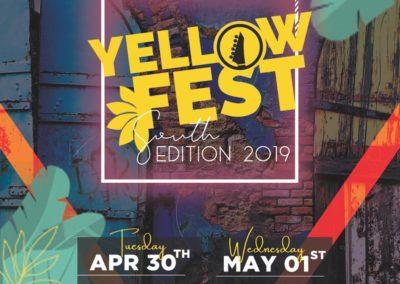 Promo Yellow Fest Hinche 2019