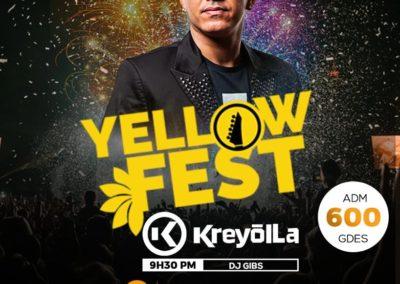 Promo Yellow Fest Hinche - PPDTRAVELS